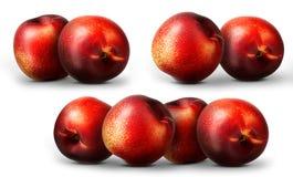 Ripe fresh nectarine peach  Royalty Free Stock Photos