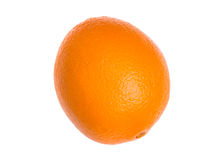 Ripe, fresh orange isolated on white background. Stock Photography