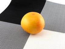 Ripe fresh orange Stock Photos