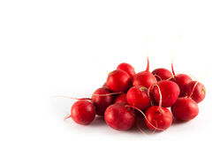 Ripe fresh radish. Isolated on white background Royalty Free Stock Images
