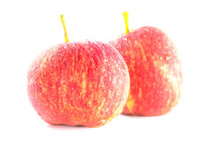 Ripe and fresh red apples Royalty Free Stock Photos