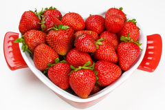 Ripe fresh strawberry Royalty Free Stock Images