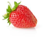 Ripe fresh strawberry Stock Photos