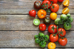 Ripe fresh tomatoes Stock Photography