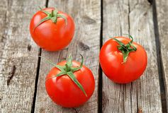 Ripe and  fresh tomatoes Royalty Free Stock Images