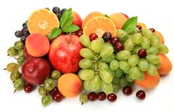 Ripe Fruit And Berries Royalty Free Stock Images