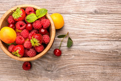 Ripe fruit Stock Images