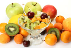 Ripe fruit for a healthy feed Stock Images