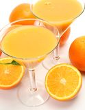 Ripe fruit and juice Royalty Free Stock Photography