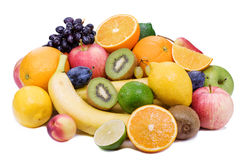 Ripe fruit with juicy pulp. Royalty Free Stock Photos