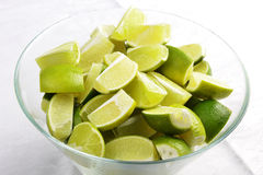 Ripe fruit lime Stock Photography