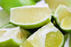 Ripe fruit lime Stock Image