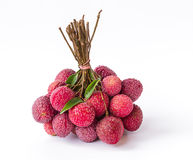 Ripe fruit of the lychee Stock Photography