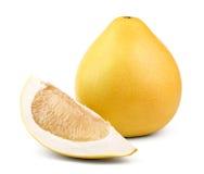 Ripe fruit pomelo Stock Photos