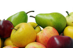 Ripe fruit of the season Stock Images