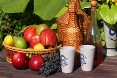 Ripe fruit on the table Royalty Free Stock Images
