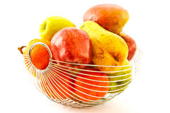 Ripe fruit in a vase Stock Photography