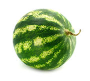 Ripe fruit water-melon isolated Royalty Free Stock Images