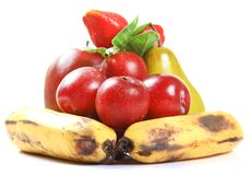 Ripe fruits Stock Photos