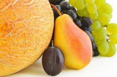 Ripe fruits background Stock Image