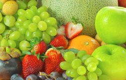 Ripe Fruits and vegetables for healthy Royalty Free Stock Image