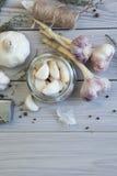 Ripe garlic Royalty Free Stock Photos