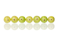 Ripe gooseberry Royalty Free Stock Images