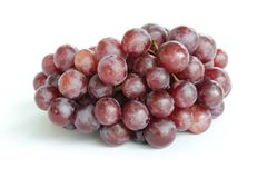 ripe grape isolate on white Stock Photography