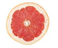Ripe grapefruit. Half of ripe grapefruit isolated on white background Royalty Free Stock Photo