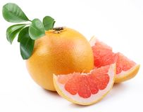 Free Ripe Grapefruit. Royalty Free Stock Photography - 16355247