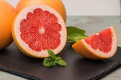 Ripe grapefruit Royalty Free Stock Images