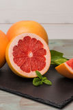 Ripe grapefruit Stock Image