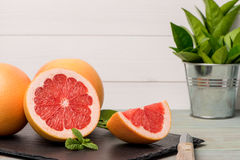 Ripe grapefruit Royalty Free Stock Photos