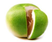 Ripe grapefruit isolated on white. Ripe grapefruit isolated on white background Royalty Free Stock Photo