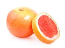 Ripe grapefruit . Ripe grapefruit  on white background Stock Photo