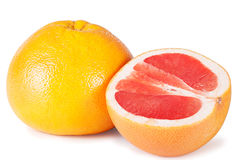 Ripe grapefruits Royalty Free Stock Images