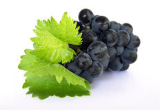 Ripe grapes - clipping path Stock Images