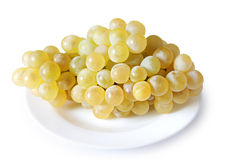 Ripe grapes in a plate Stock Photo