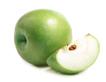 Free Ripe Green Apple. Royalty Free Stock Photography - 35924887
