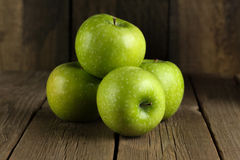 Ripe green apple Royalty Free Stock Photo