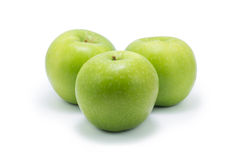 Ripe green apple Stock Photography