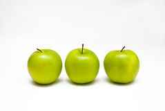 Ripe green apples Royalty Free Stock Photography