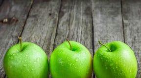 Ripe green apples Royalty Free Stock Photos