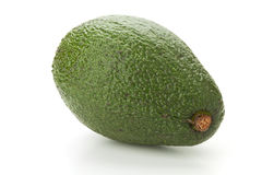 Ripe green avocado Royalty Free Stock Photos