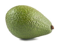 Ripe green avocado Stock Images