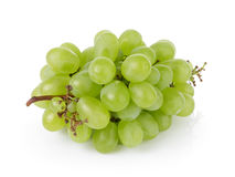 Ripe green grapes Royalty Free Stock Photography