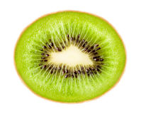 Ripe green kiwi Stock Photo