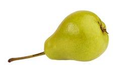 Ripe green pear Stock Image