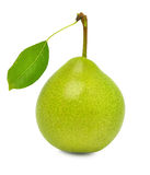 Ripe green pear Royalty Free Stock Photography
