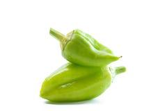 Ripe Green Pepper Stock Images